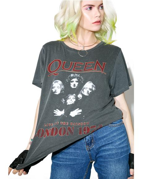 Queen London '74 Tee