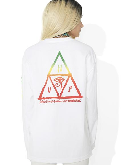 Disaster Triangle Long Sleeve Tee