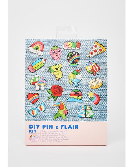 DIY Pin N' Flair Kit