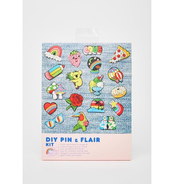 Yellow Owl Workshop DIY Pin N' Flair Kit