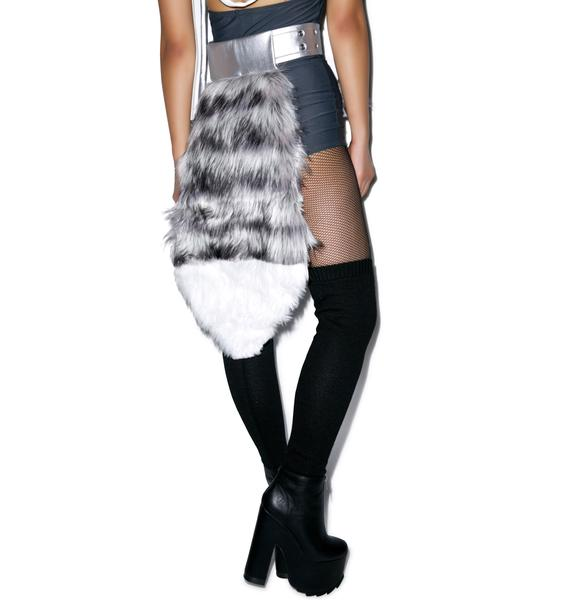 J Valentine Who Let the Wolf Out Belted Tail