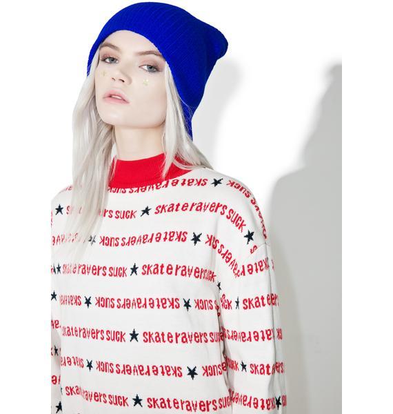 MadeMe x X-Girl Turtle Neck Sweater