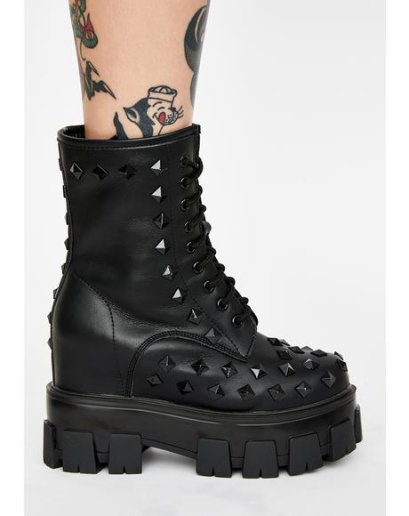 Punk Master Platform Boots