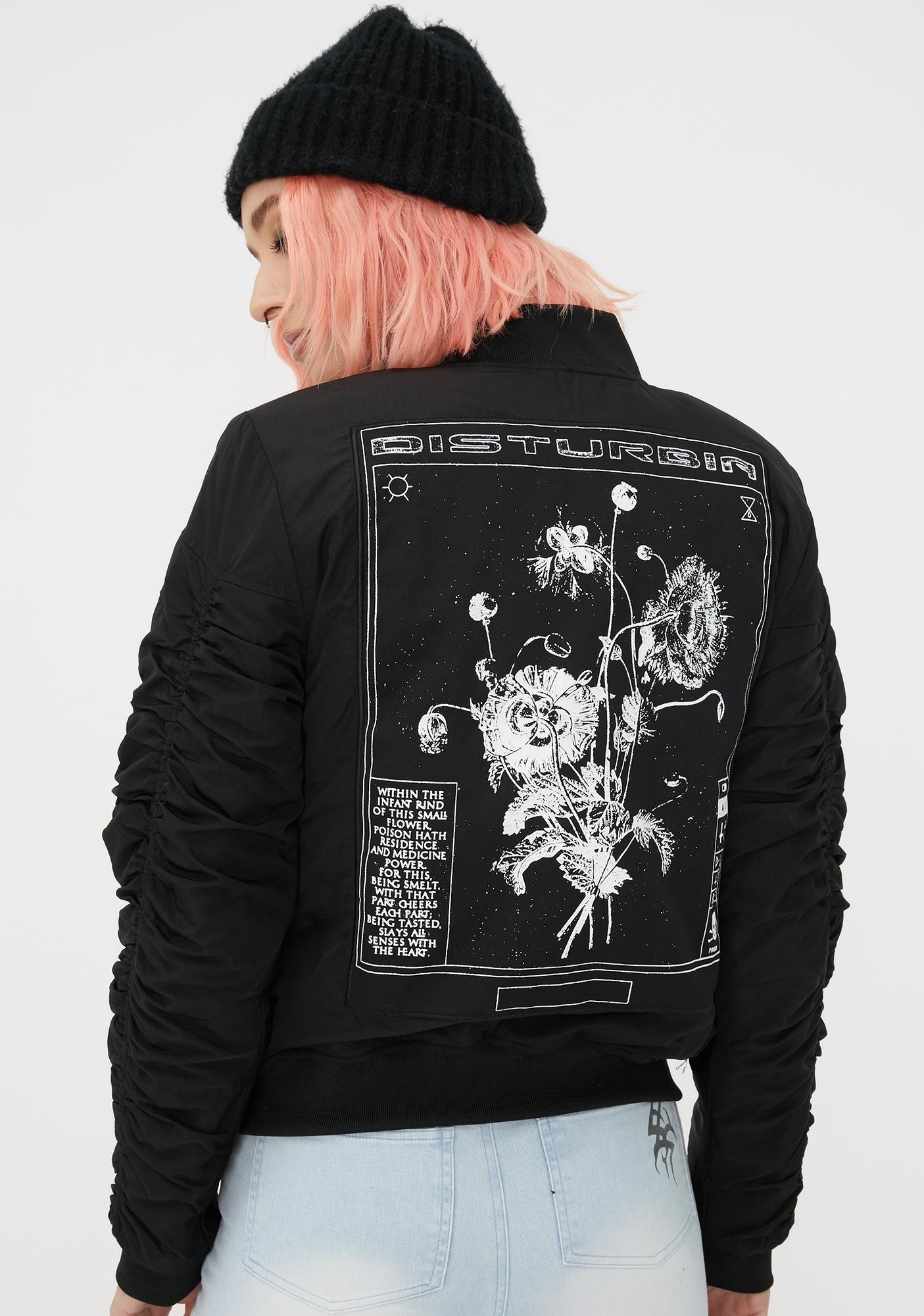 Disturbia Poison Bomber Jacket