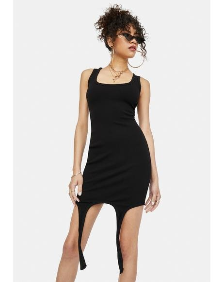 Doin' Time Tank Bodycon Mini Dress