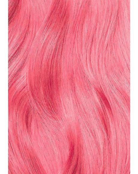 Coral Pink Semi-Permanent Hair Dye
