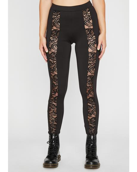 Dark Side Lace Leggings