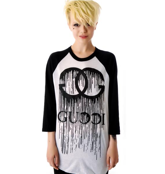 Melting GG Baseball Raglan