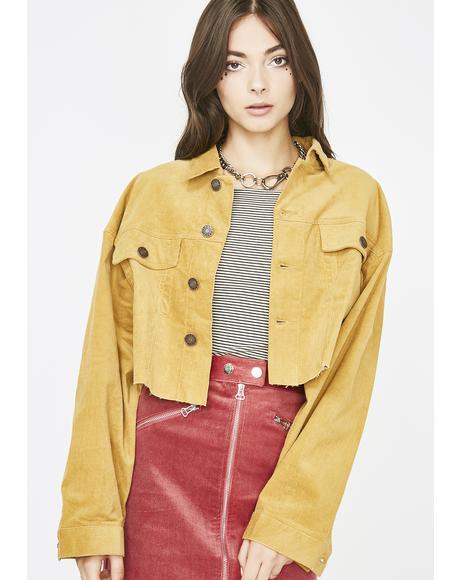 Let Me Live Corduroy Jacket