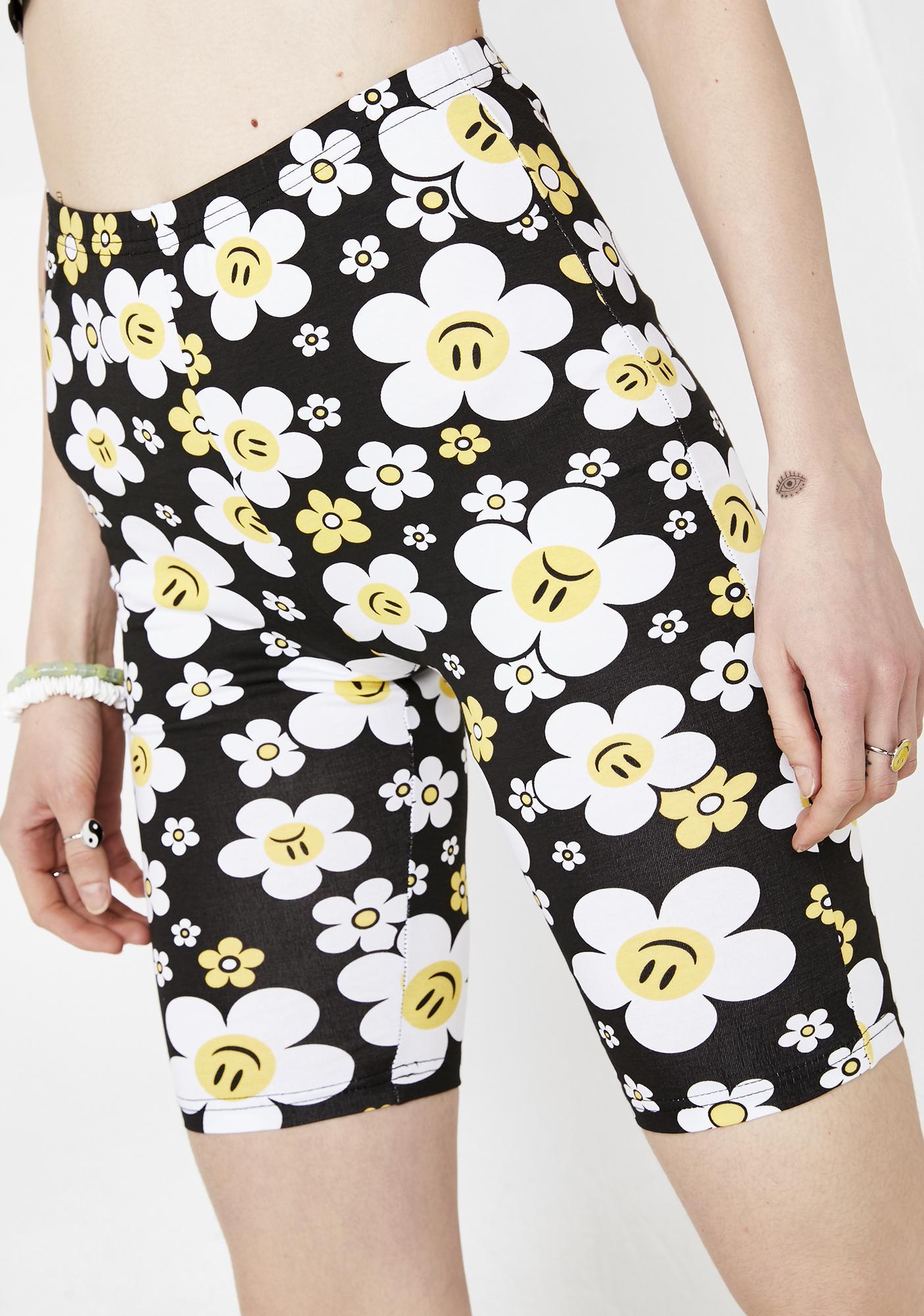 Current Mood Hazy Daisy Biker Shorts