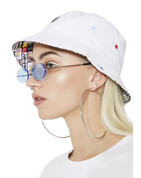 Mix Tape Reversible Bucket Hat