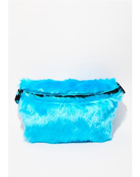 Shaggy Monster Fanny Pack