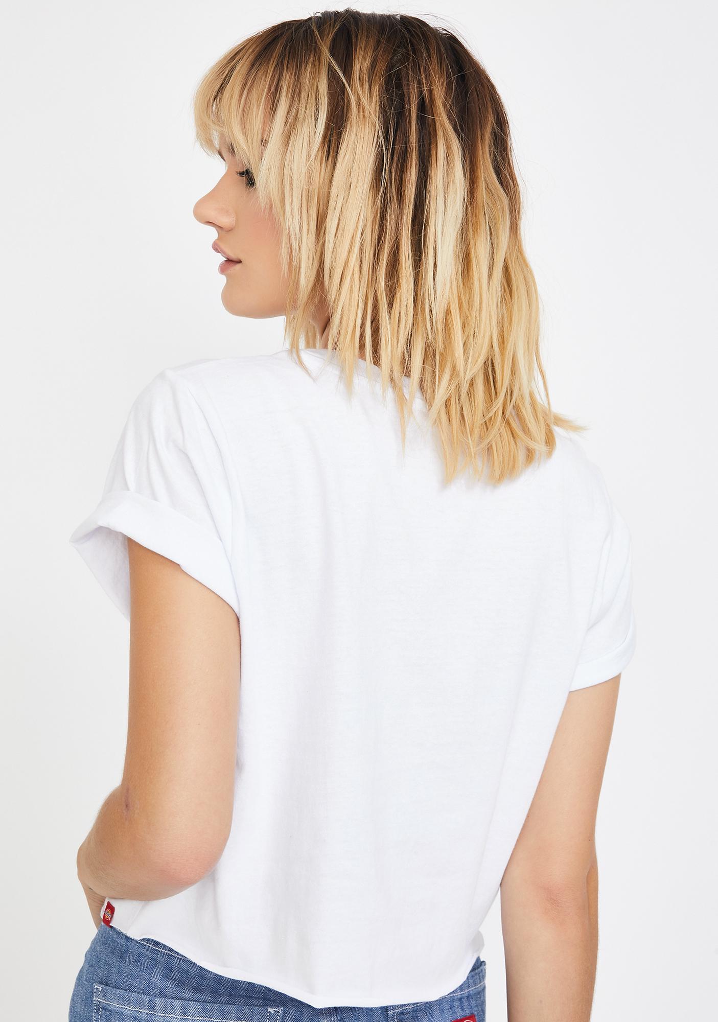 Dickies Girl Logo Short Sleeve Crop Tee