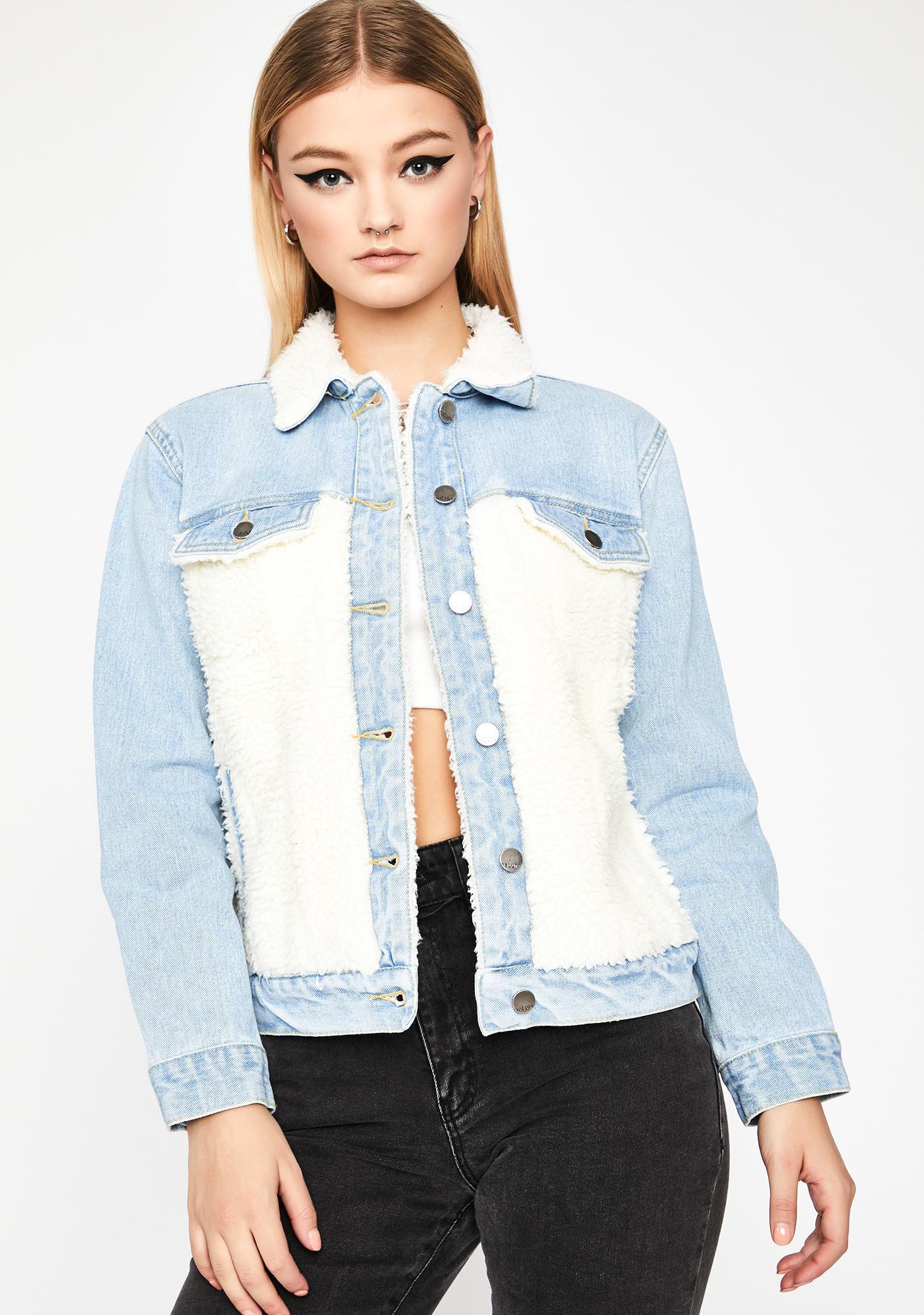 Tough Fluff Denim Jacket