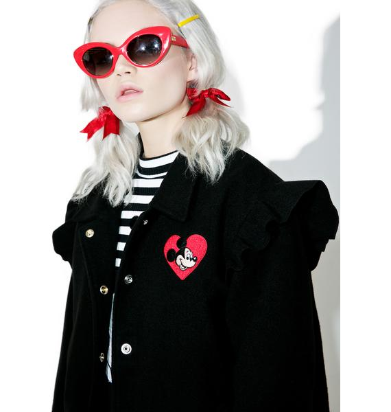 Lazy Oaf X Disney Mickey Mouse Bomber Jacket