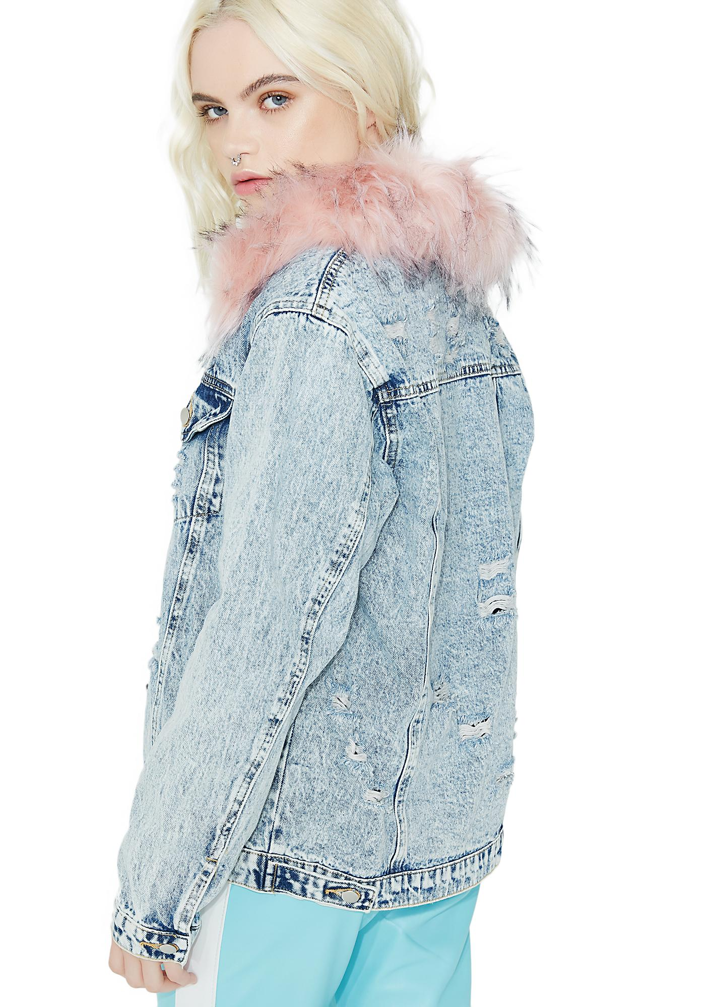 Brat Babe Denim Jacket