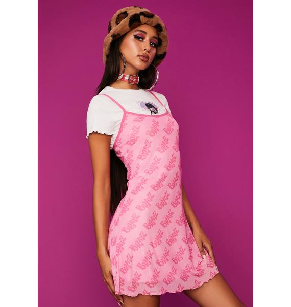Dolls Kill x Bratz Got Bratitude Slip Dress
