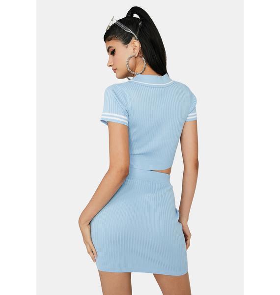 Chill Ur New Lab Partner Skirt Set