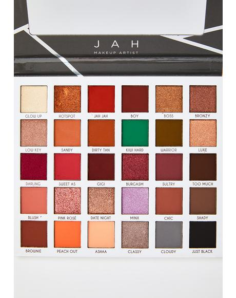 Jah Makeup Artist Clientele Palette
