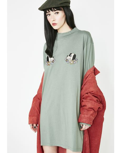 Puppies T-Shirt Dress