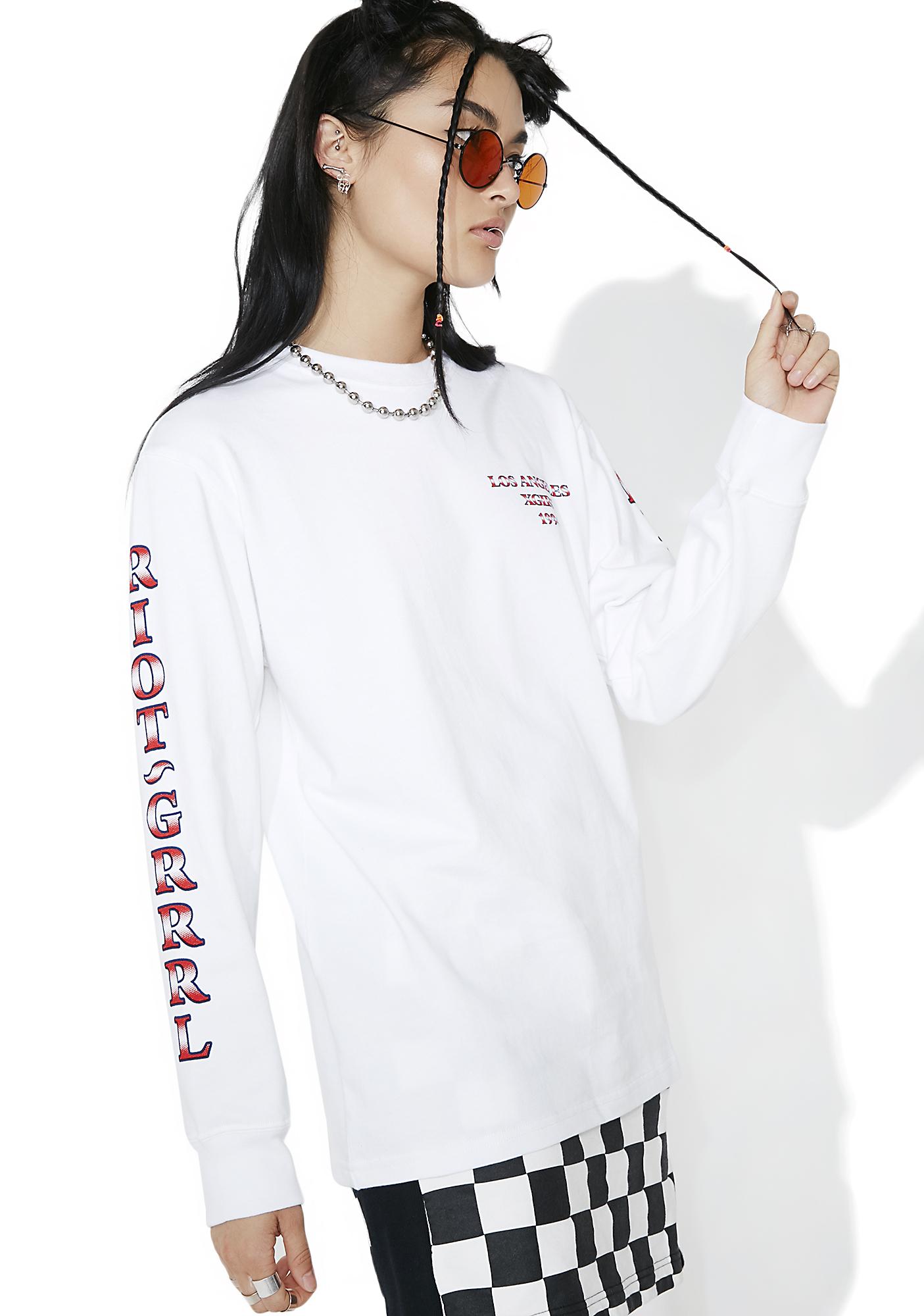 x-Girl Riot Grrl Long Sleeve Tee