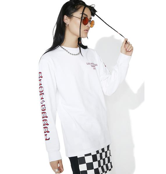 x-Girl Riot Grrl Long Sleeve Tee