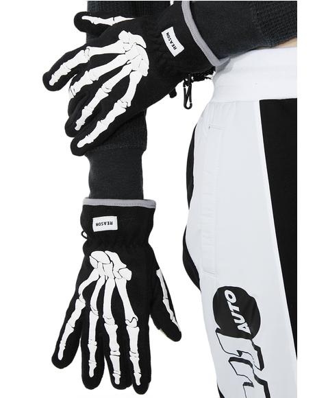 Bones Gloves