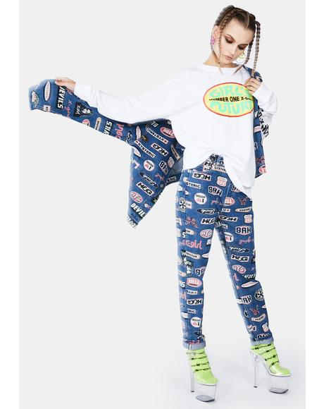 Hysteric Glamour Icon Pants