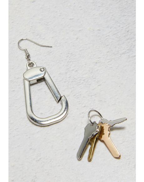 Got The Keys Drop Earrings