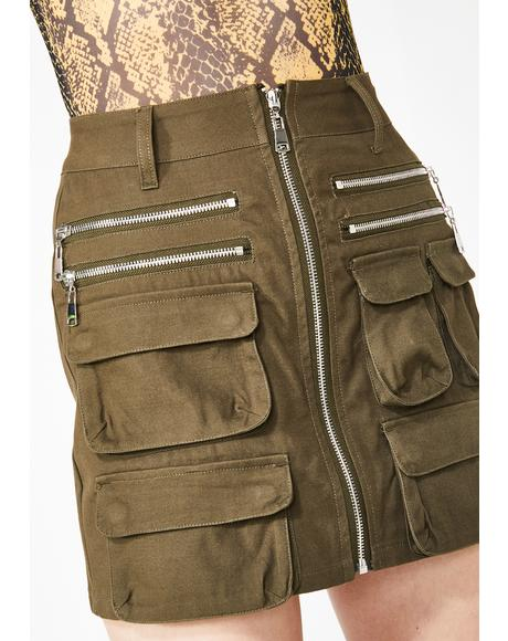 Operation Bombshell Cargo Skirt