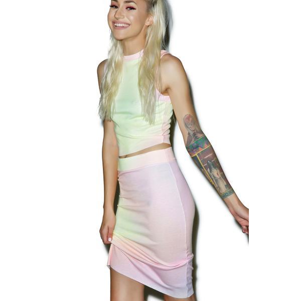 Wildfox Couture Rainbow Brite Skipper Skirt