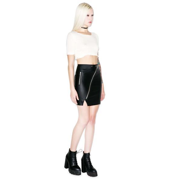 Current Mood Blitz Skirt