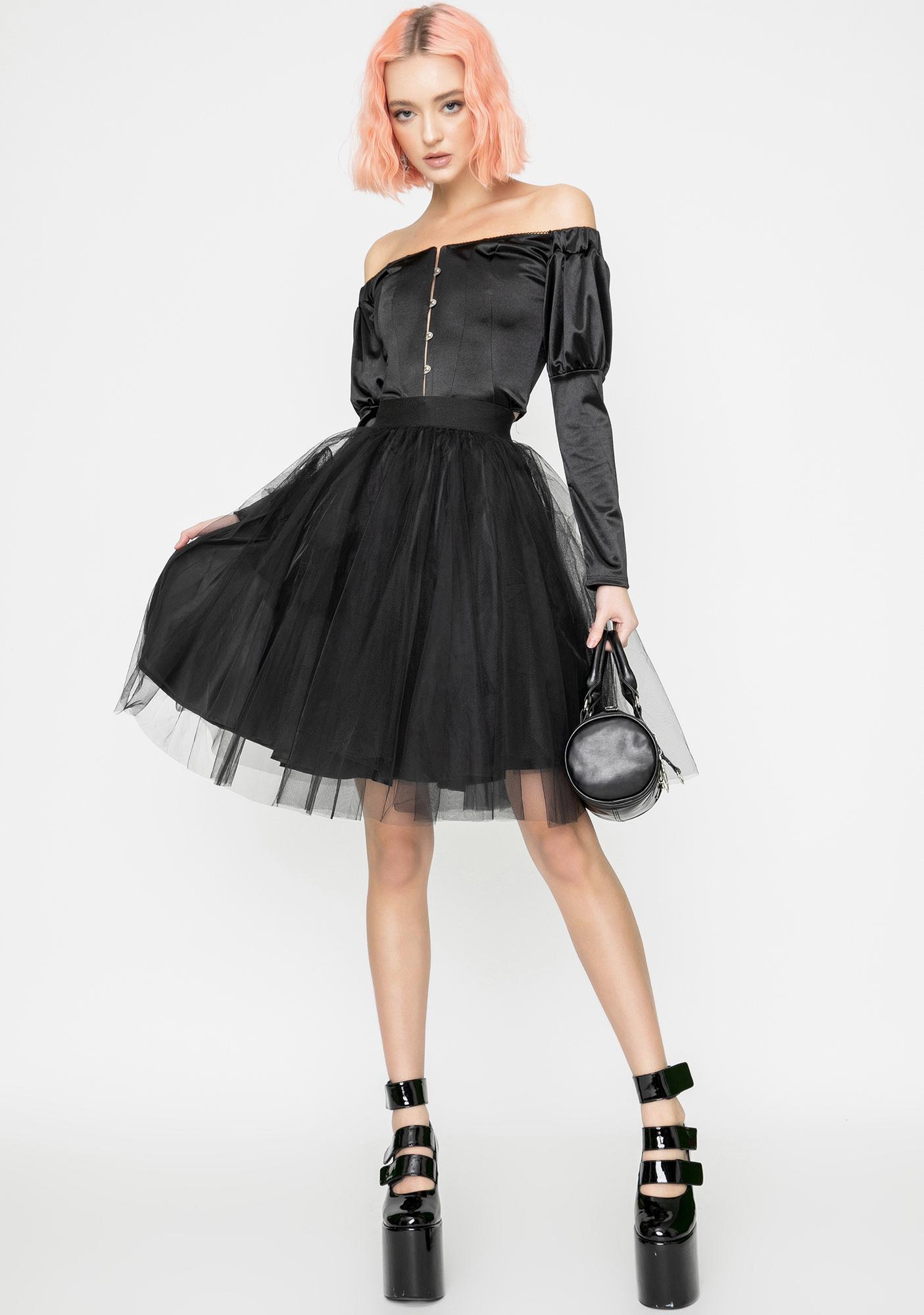 Kiki Riki Haunted Royalty Tutu Skirt