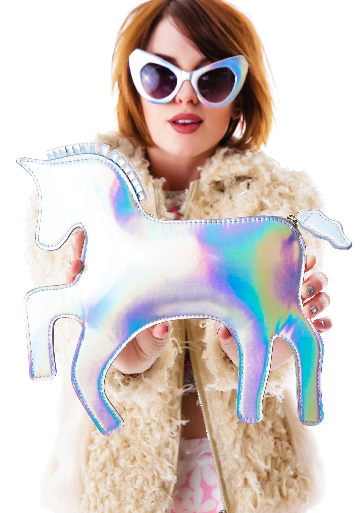 The Last Unicorn Hologram Clutch