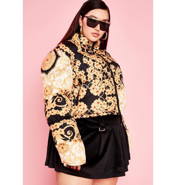Sugar Thrillz Divine Haute Lust Puffer Jacket