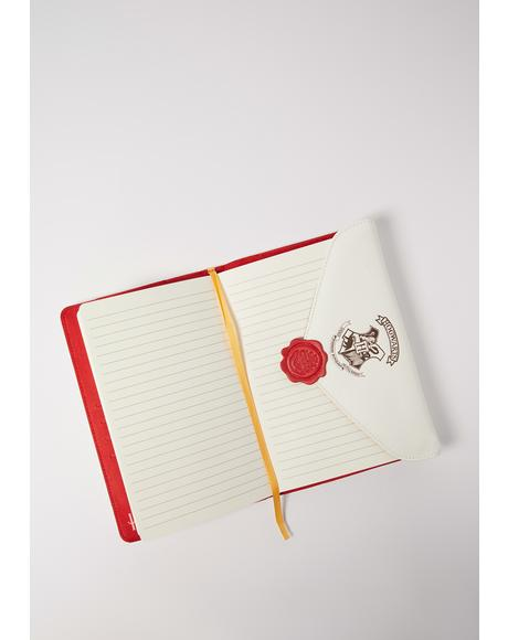 Home To Hogwarts Harry Potter Notebook