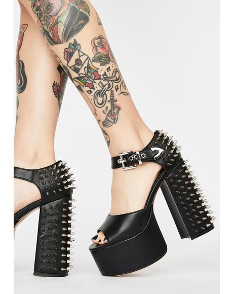 Untouchable Platform Heels