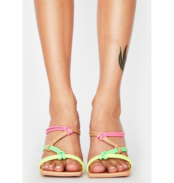 Bubbly Always Trending Sandal Heels