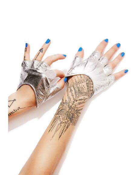 Steam Trunk Half Gloves