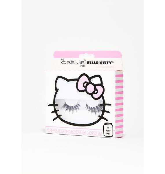 The Crème Shop Hi Baby Doll Hello Kitty Lashes