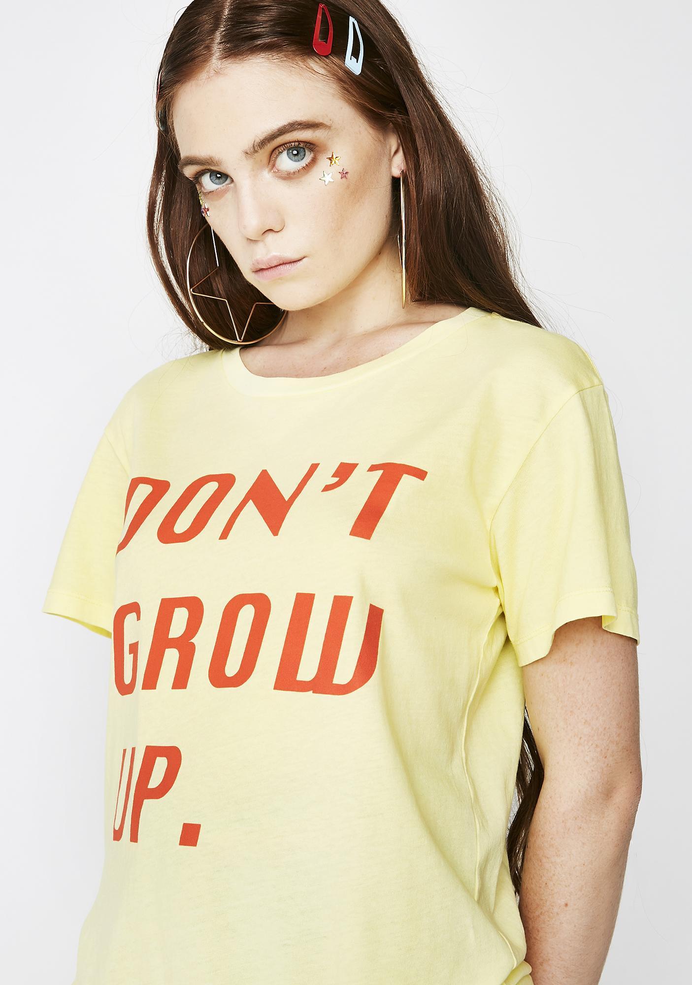 Desert Dreamer Don't Grow Up Boyfriend Tee