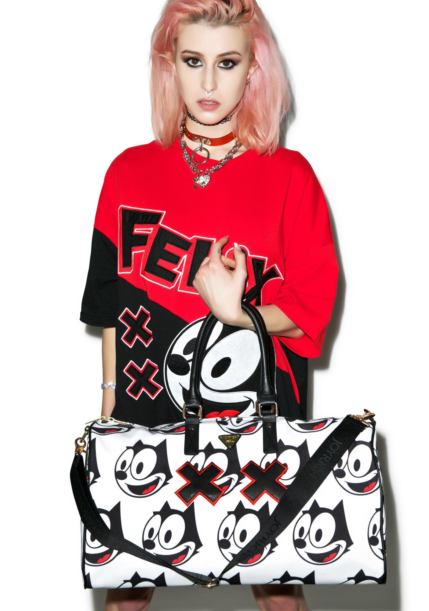 Joyrich Felix Face Boston Bag