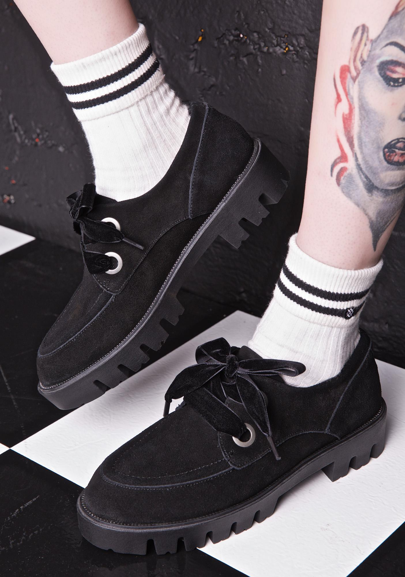 MTNG On The Haunt Suede Oxfords