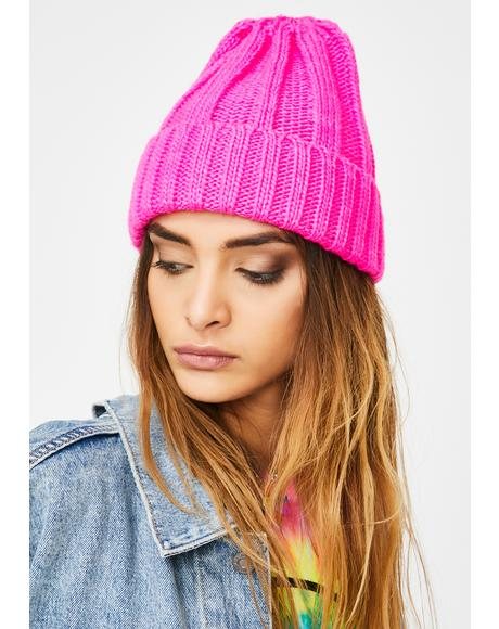 Candy Got Flavor Ribbed Beanie
