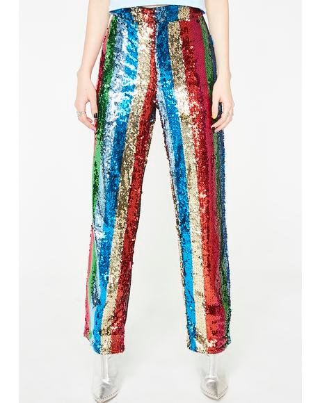 Come Get Groovy Sequin Pants