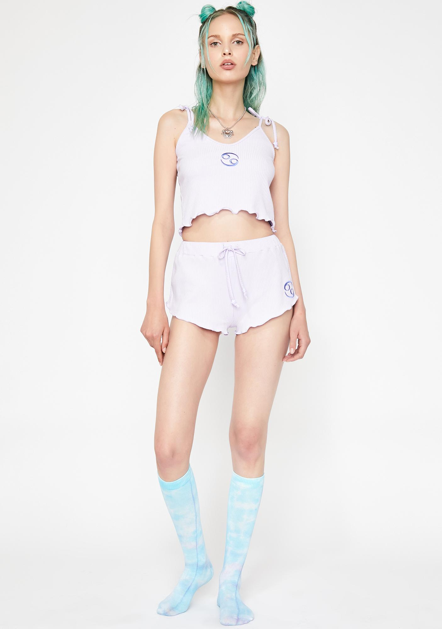 HOROSCOPEZ Loyal Lova Pajama Shorts