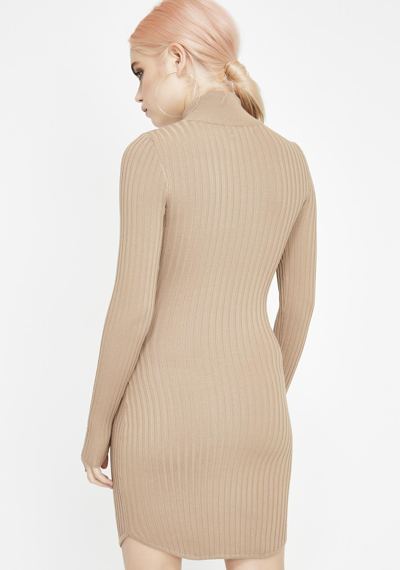 Above It All Knit Dress