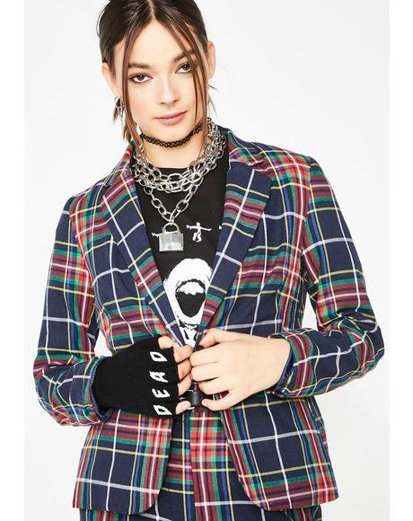 Plaid Habit Jacket
