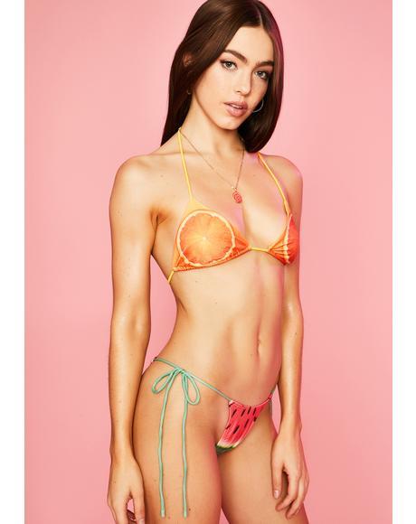 Forbidden Fruit Bikini Set