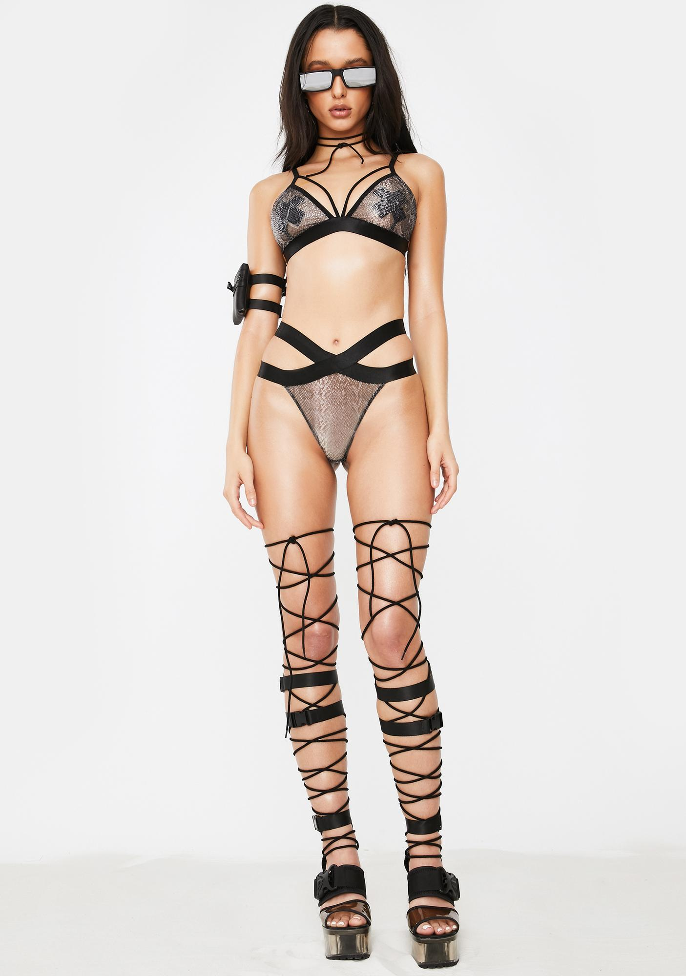 Poster Grl Dare To Bare Lingerie Set